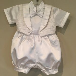 J.J. Anjorden Infant Boys Christening Outfit